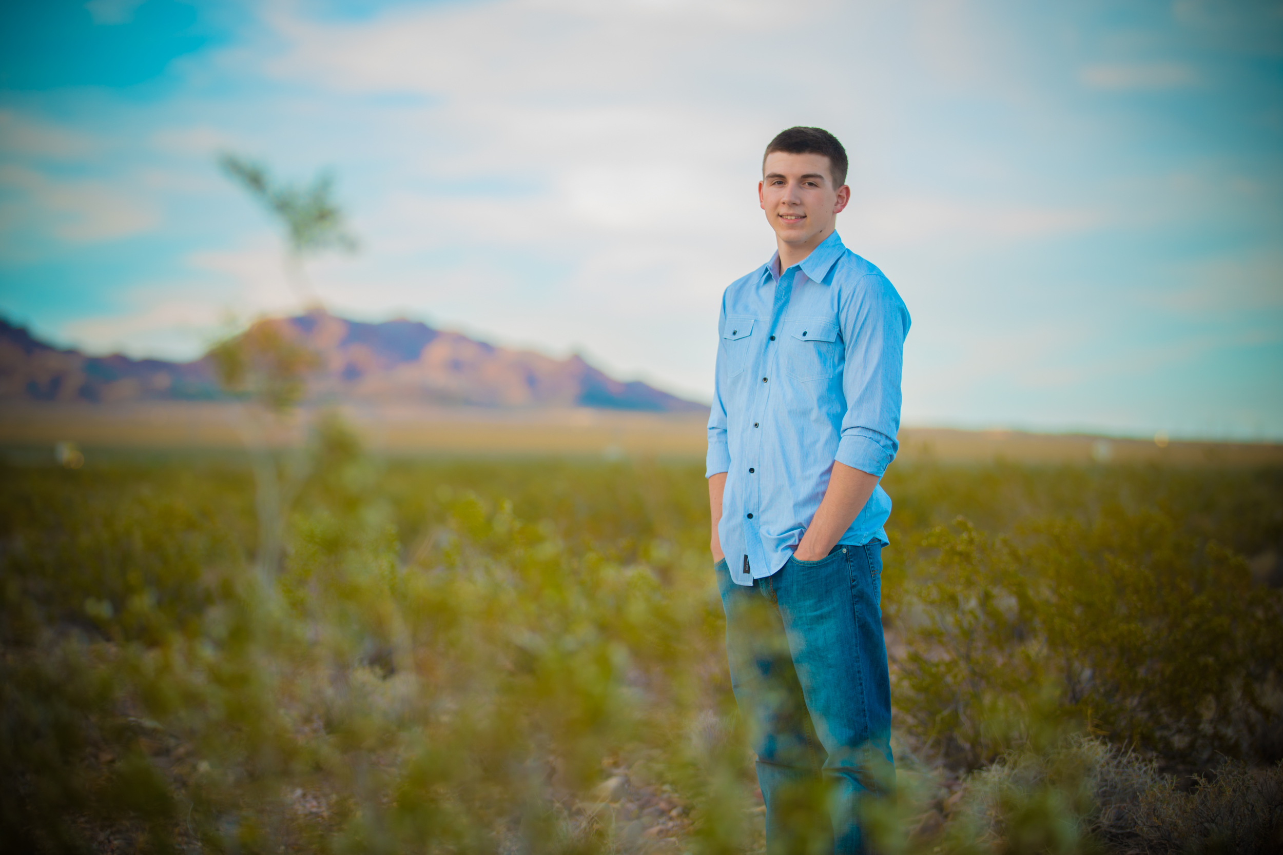 Desert senior pics.