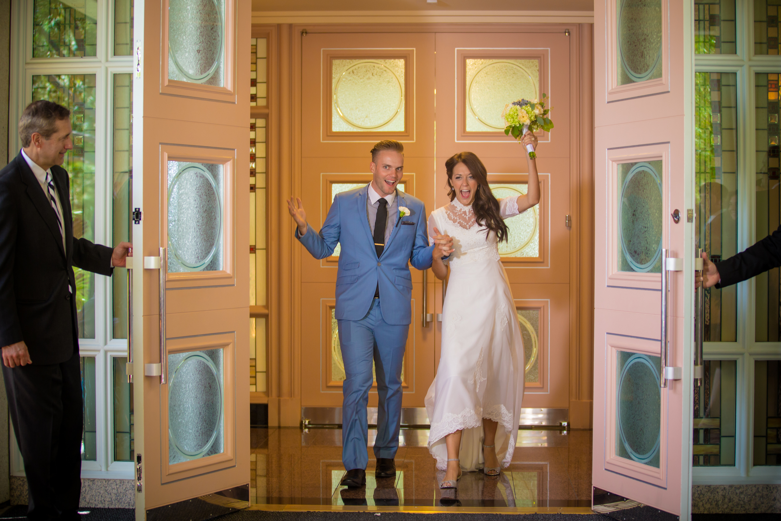 lds temple marriage