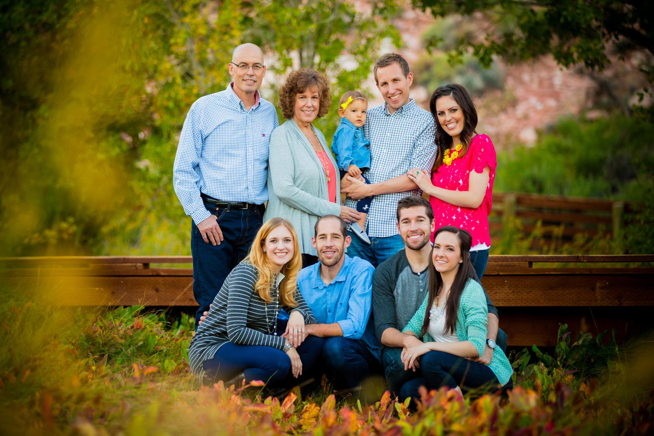 Calico Basin family photos
