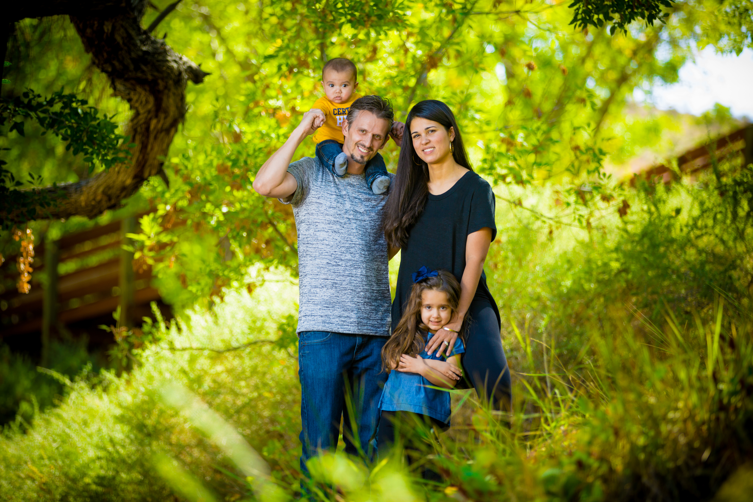 Calico basin family pictures