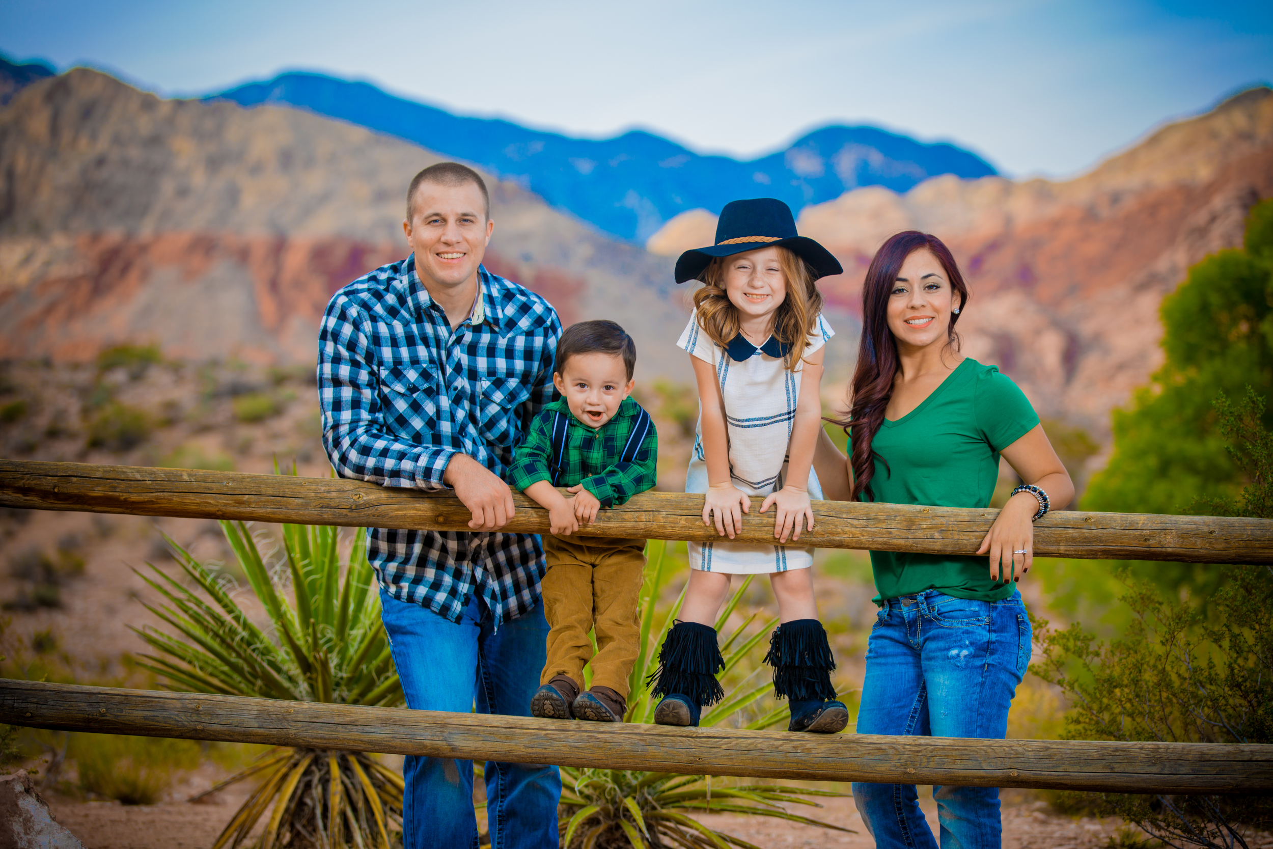 Calico Basin family portraits
