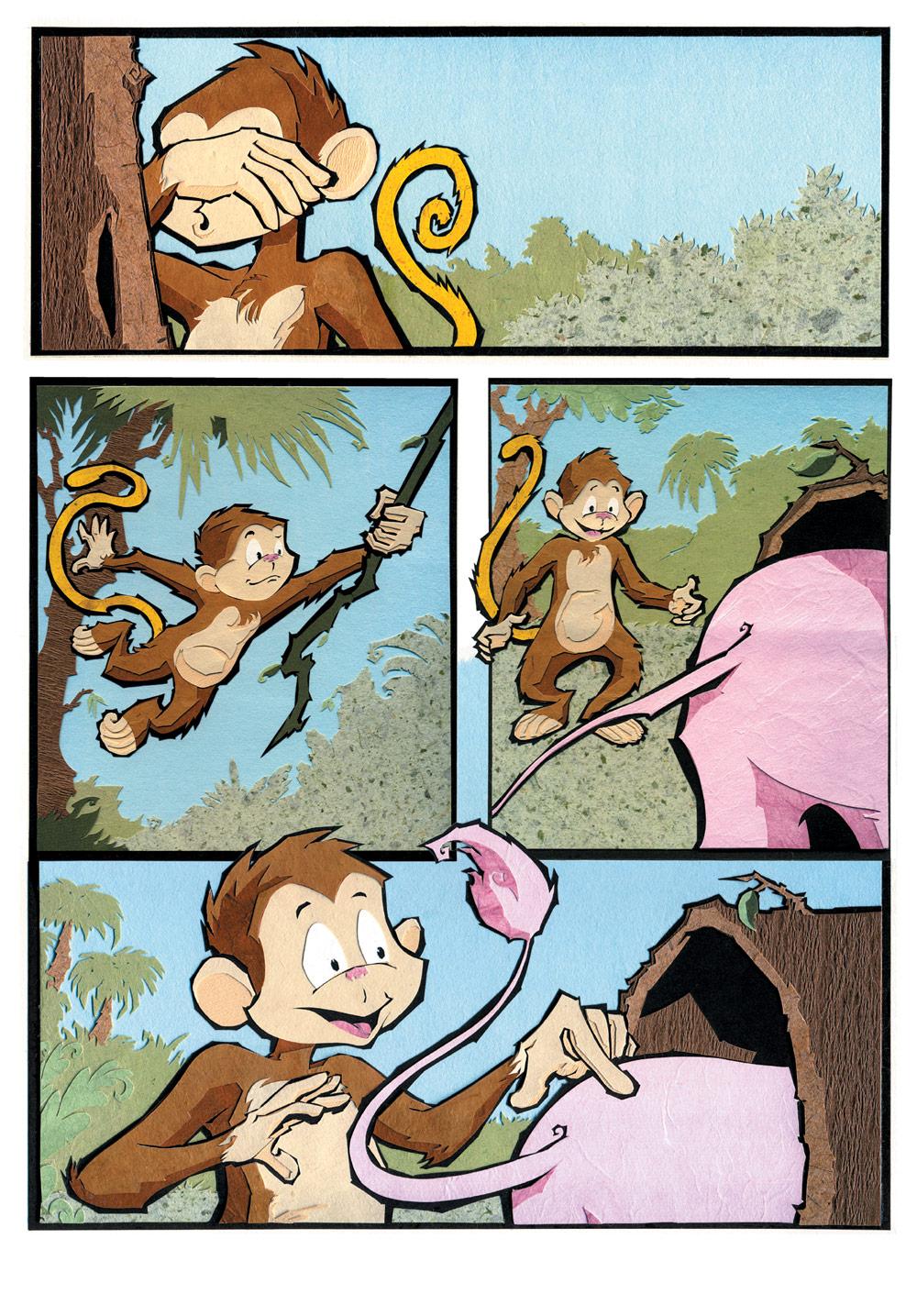BananaTail Hide & Seek, page 1