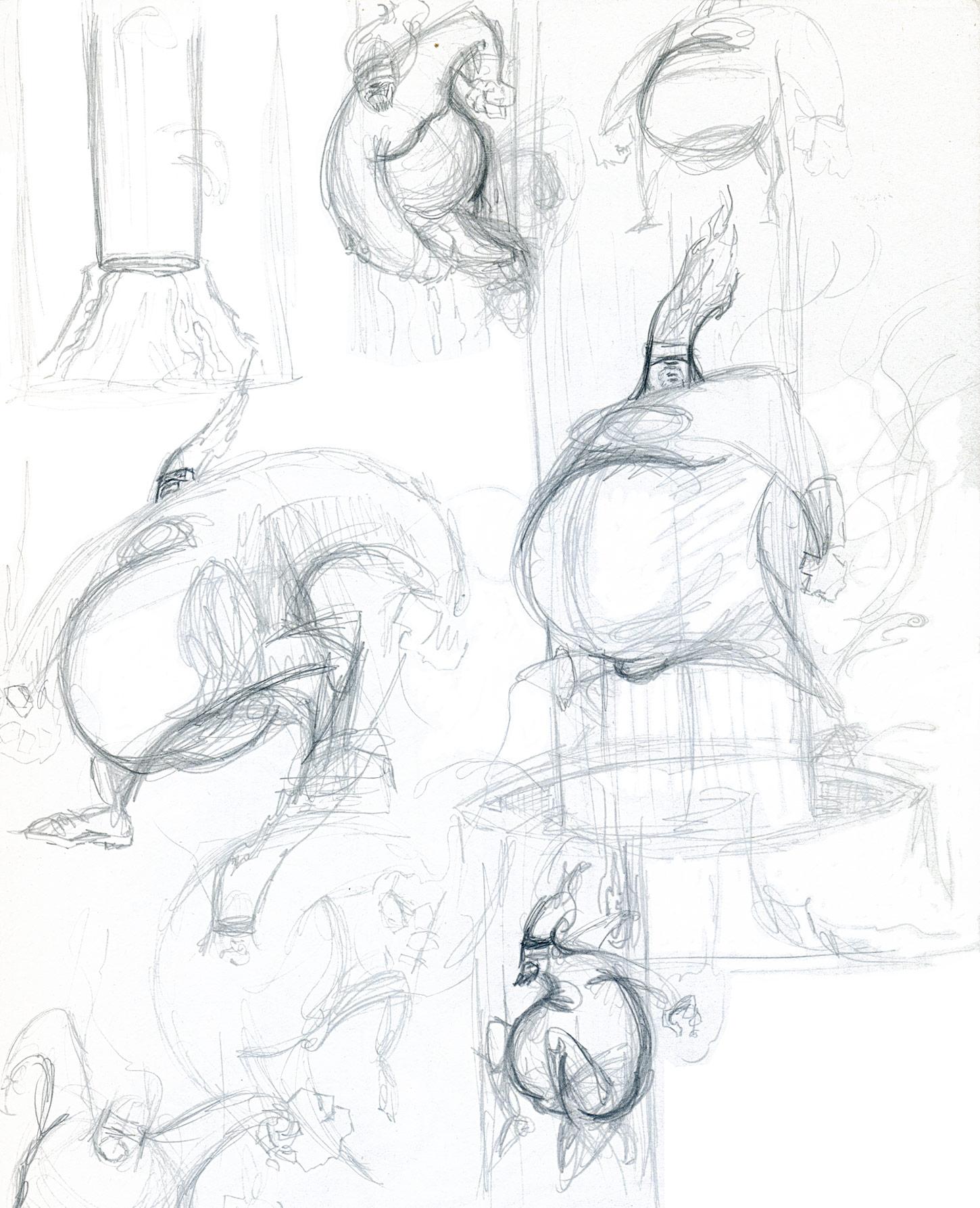 Lava Roid Sketches