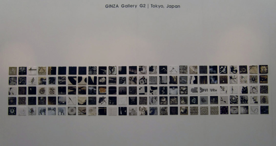 Gallery G2's exhibit at Affordable Art Fair London 2016