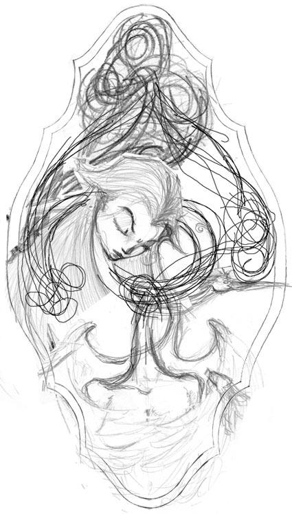 In Sleep I am Engulfed in Feathers (Rokurokubi)