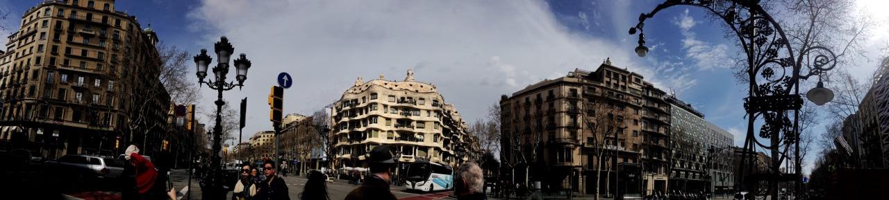 18-03-2015 12:26:15  Passeig de Gràcia, Barcelona, Catalonia