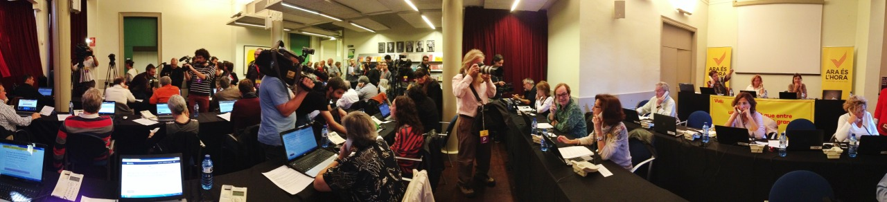 05-11-2014 11:07:39   Omnium Cultural, Barcelona, Catalonia