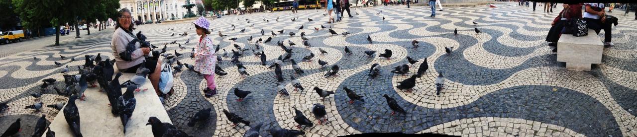 17-10-2014 16:41:17   Rossio, Lisbon, Portugal