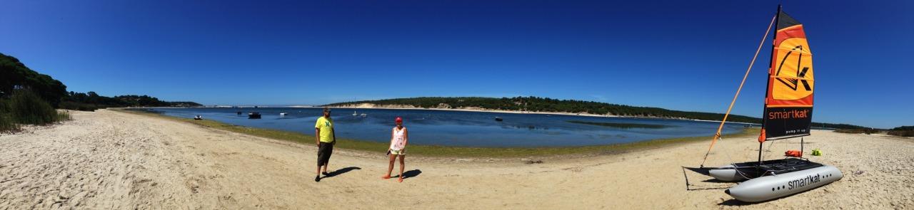 23-08-2014 12:15:42  Lagoa de albufeira, Sesimbra, Portugal