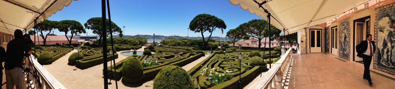 09-07-2014 12:59:16  Palácio de Belem, Lisbon, Portugal