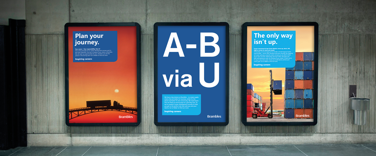 Brambles Inspiring Careers posters