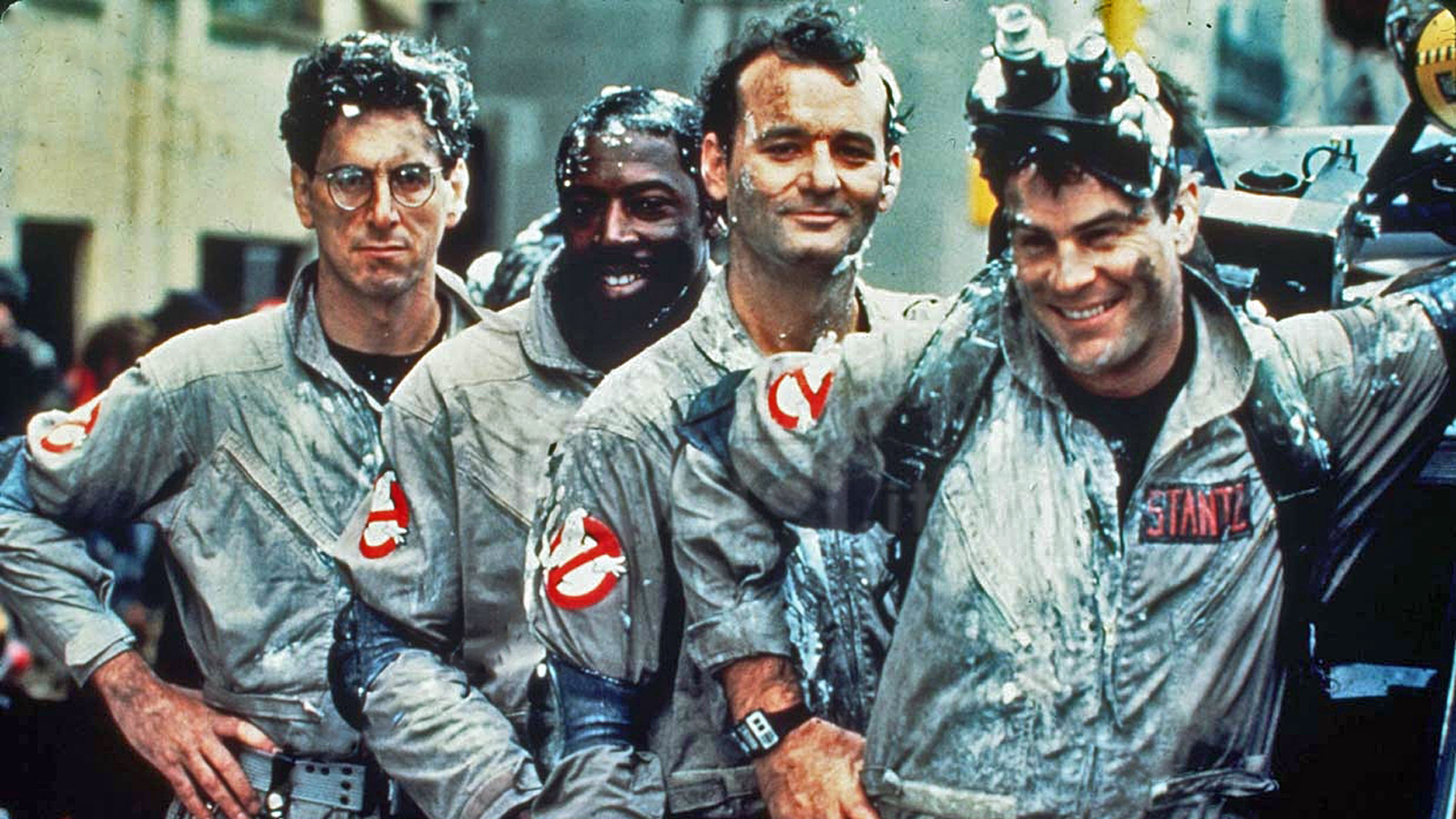 GHOSTBUSTERS  is one of the greatest comedies of all time, focusing on a team of blue collar heroes, starting their own business, attempting to save the city.The four lead actors have fantastic chemistry together, playing off one anothers strengths and weaknesses,making every performance that much stronger.While the characters occasionally bicker/disagree,there is a great sense of warmth and affection among them. Each team member has a distinct characteristic at their core - Brains ( Egon ), Mouth ( Peter ), Heart ( Ray ), and the everyman ( Winston ) - A dynamic that has a strong influence on our very own heroes.