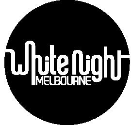 White Night Melbourne Logo