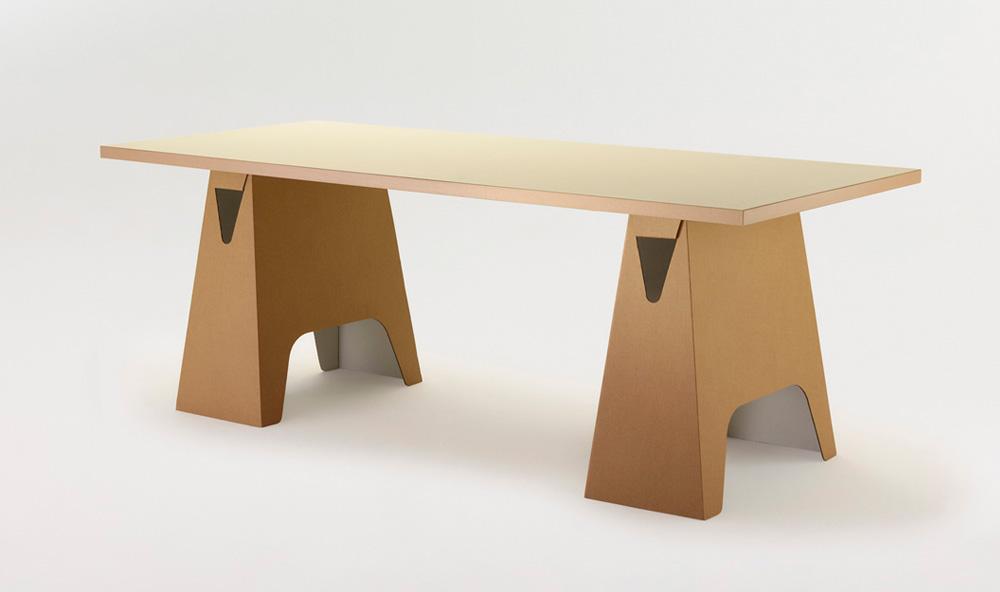 Paper Tiger Trestle Table