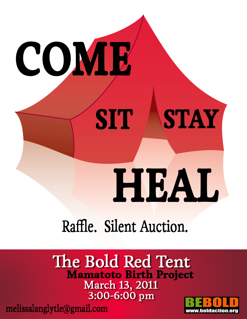 BOLD Red Tent Poster.San Diego 2011.jpg
