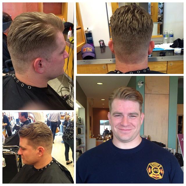 Men's cut by @kelly_williams