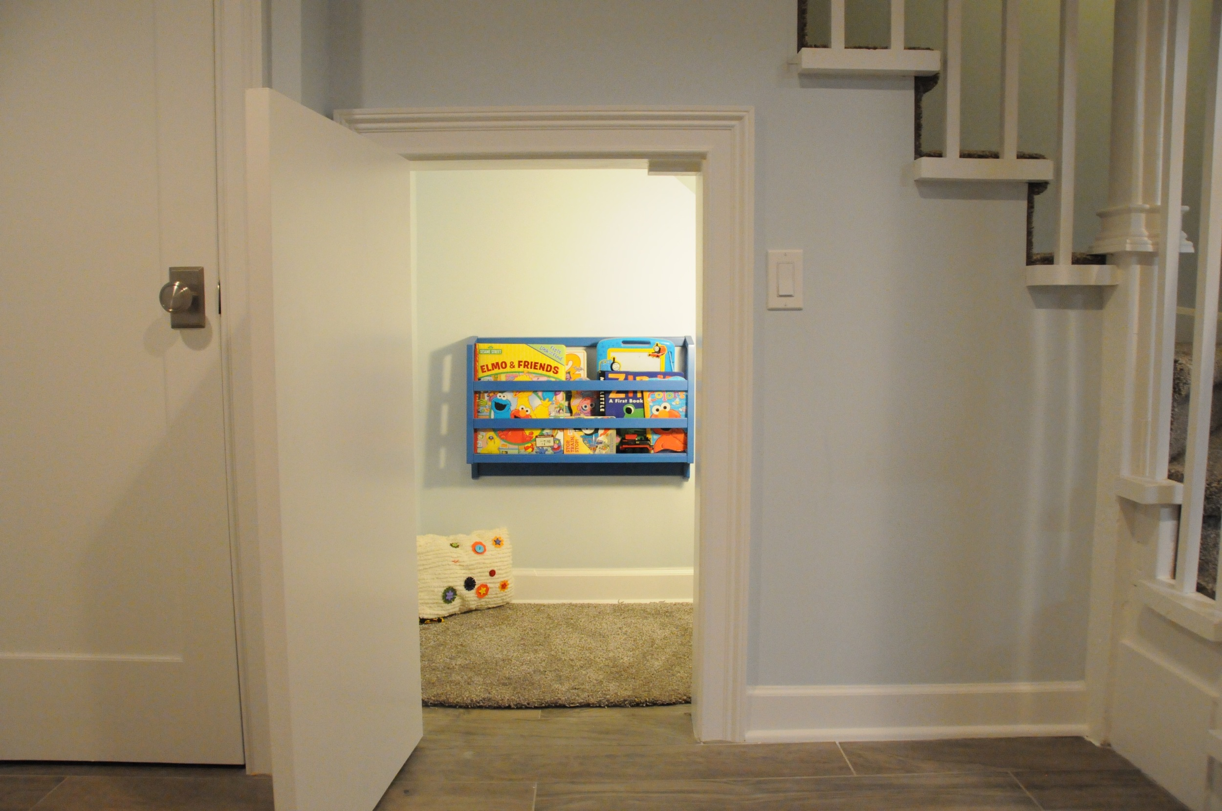 Half doors are good for under-stair uses,  among others .
