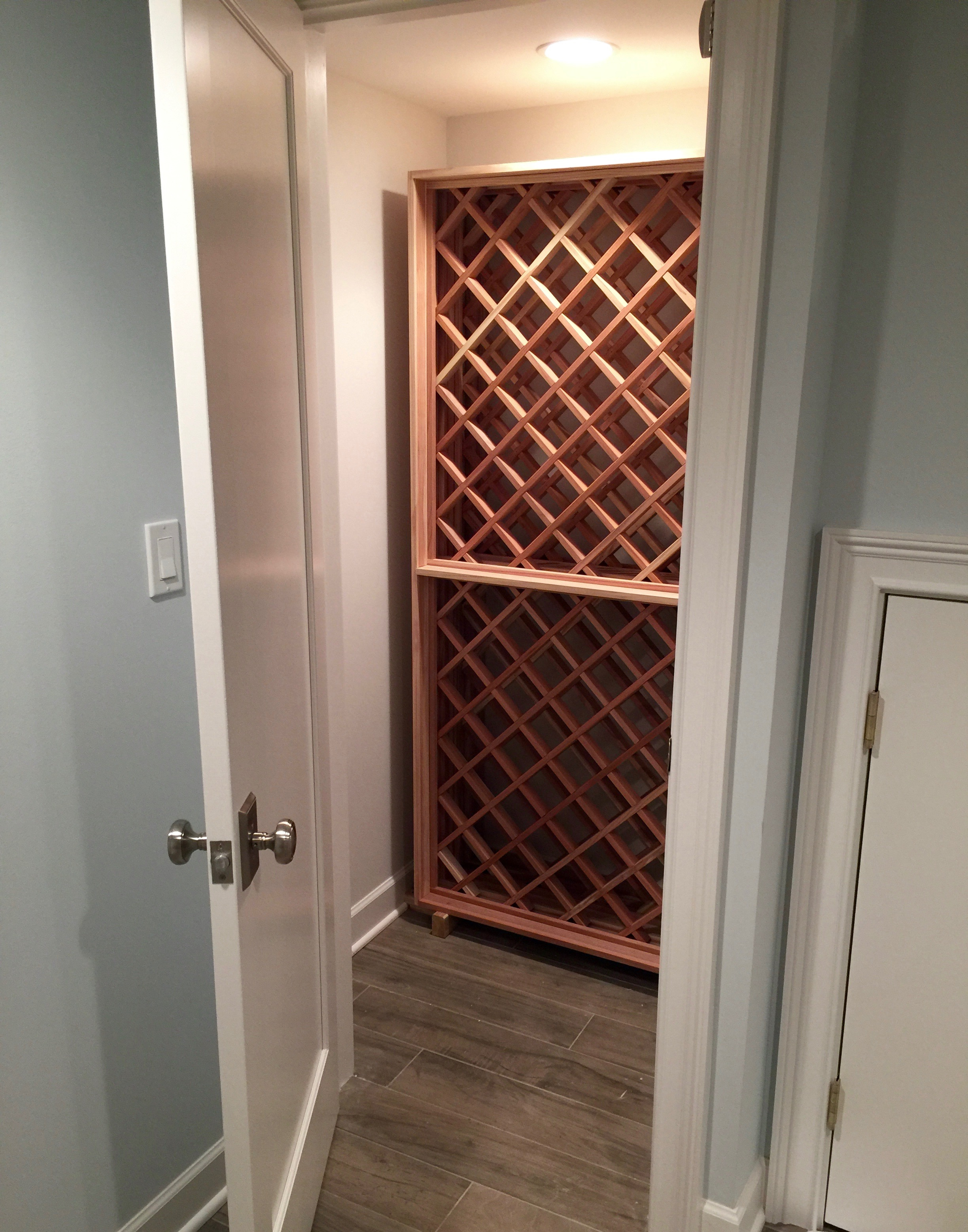 Remember all that stuff I said about creating more living space in the basement? There are some important storage exceptions :)