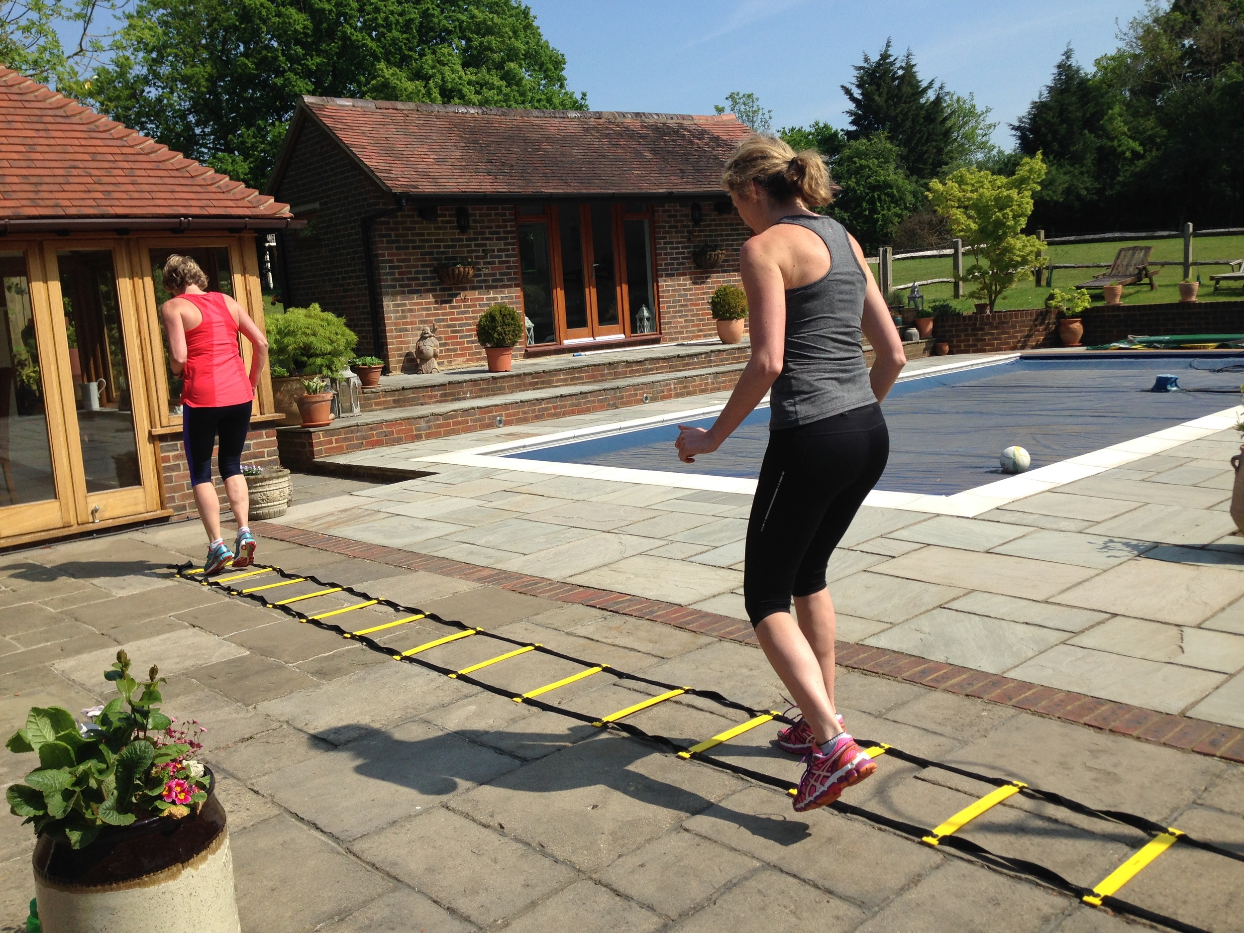 JO, louise and Sara (Group training), ANSTY, west SUSSEX
