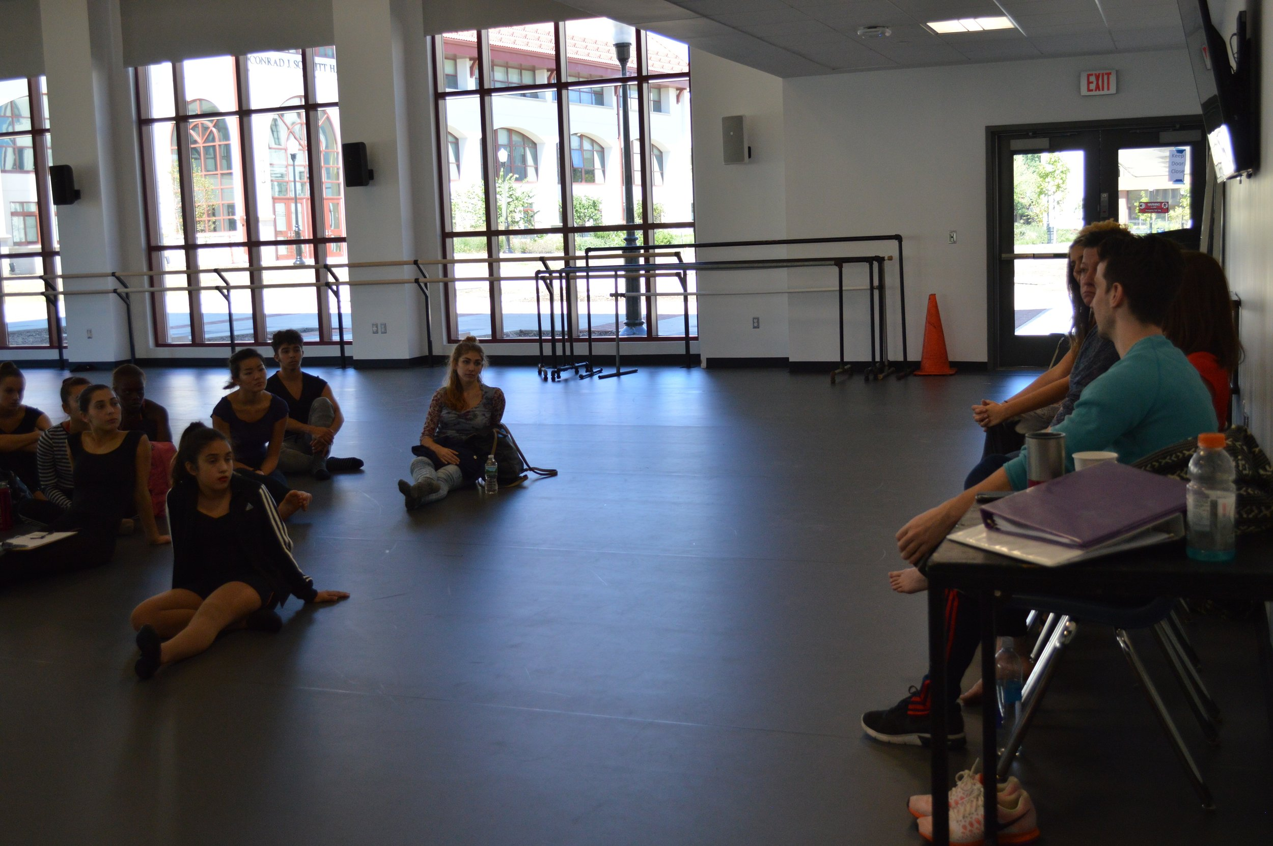 Networking between Participants and Dance Companies