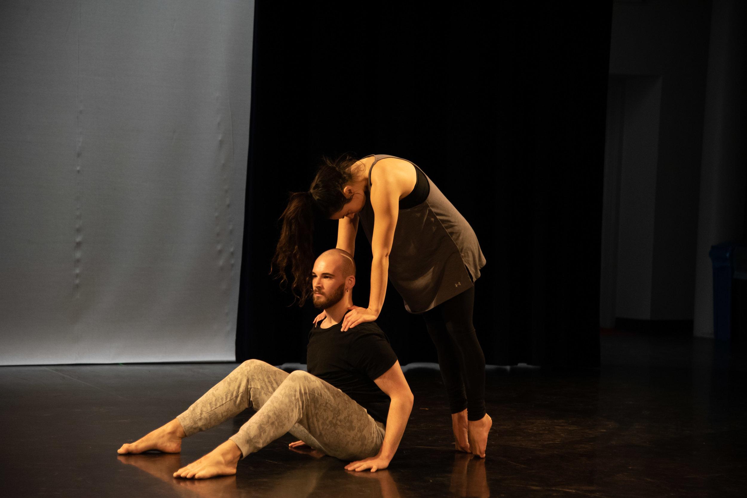Paths Cross/Doors Open Choreographer Tyron Howard