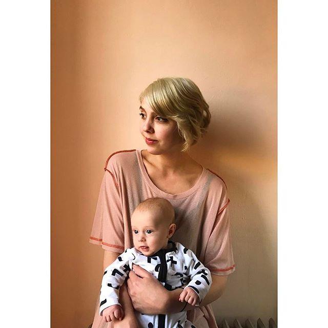 August's new mum.