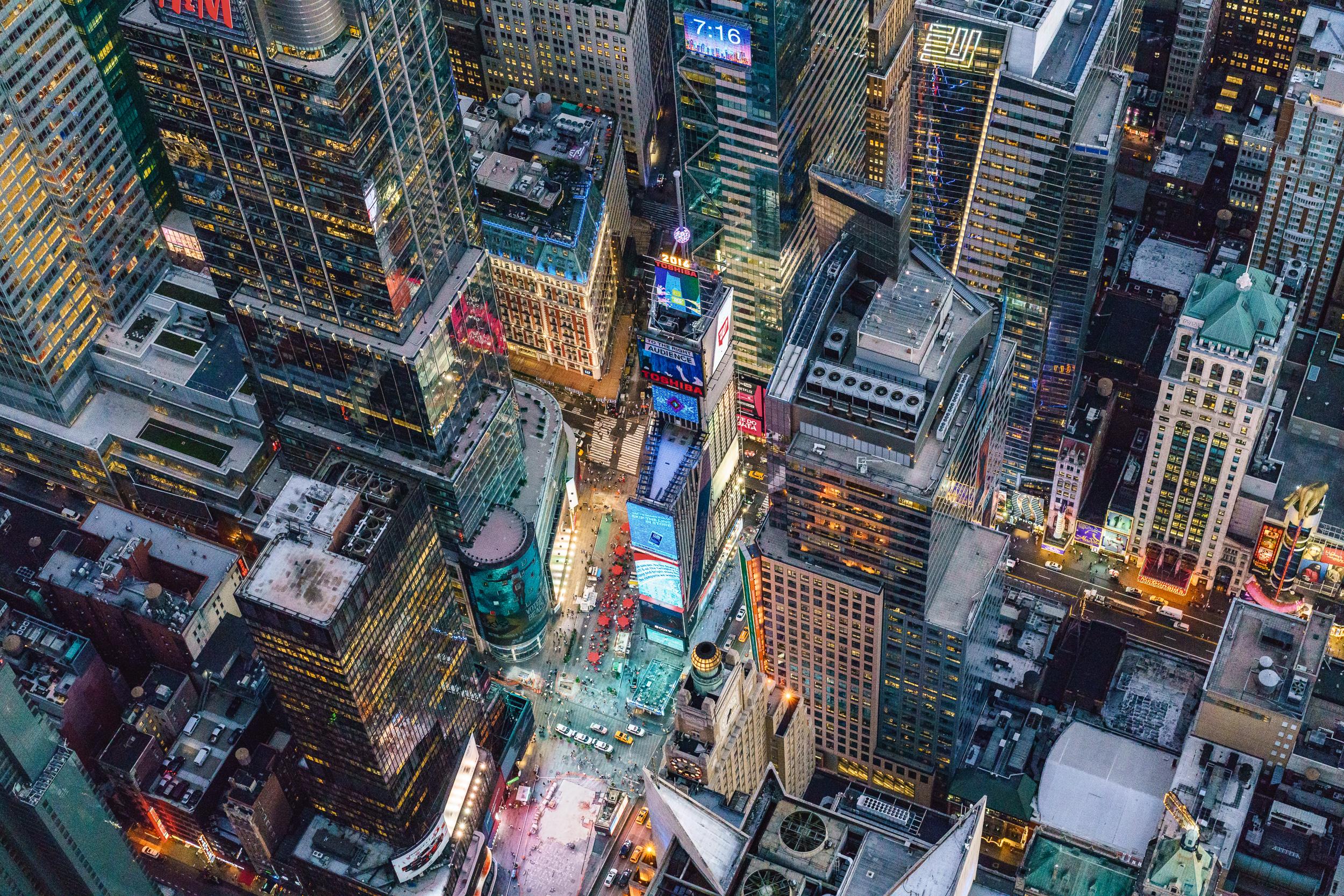7:16 PM Times Square