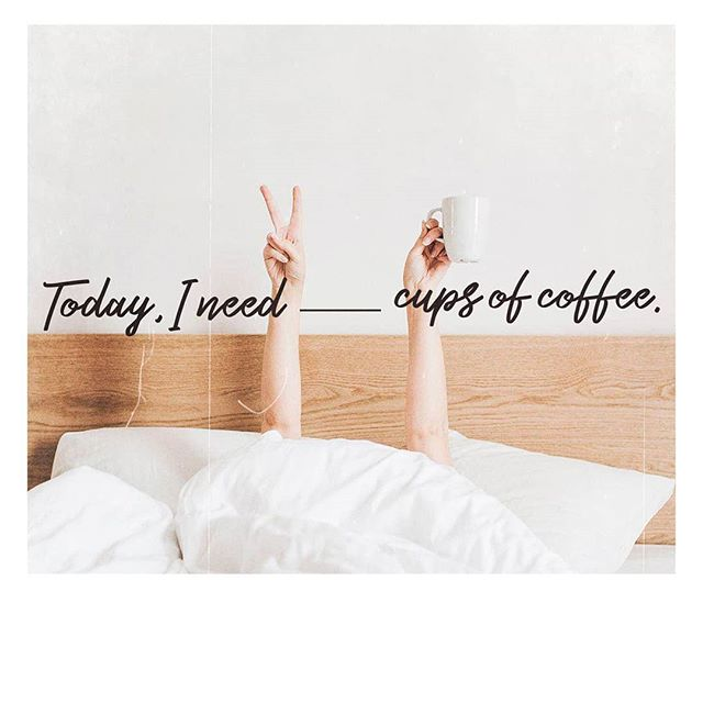 Happy International ☕️ Day! 🤗 How many cups are you having today?