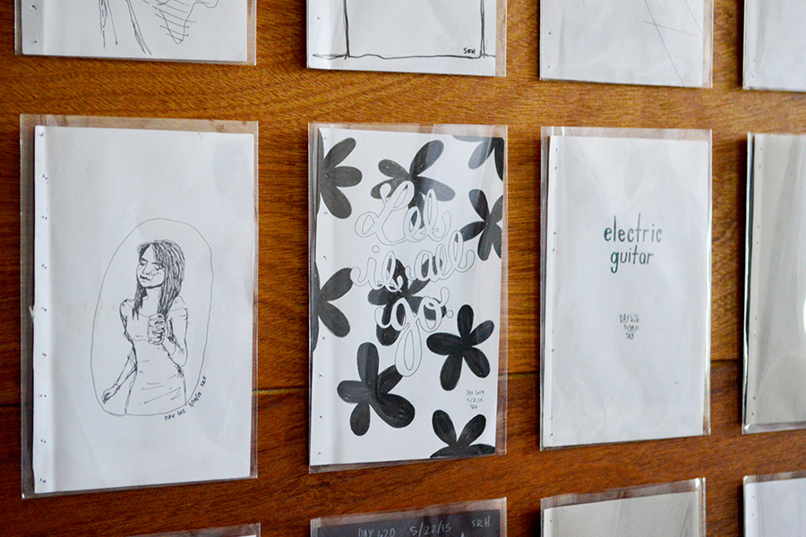Juried 2-D Award - 'Sofía Draws Every Day' at Cultura Collective at Rumsey Street, by Sofía Ramírez Hernández