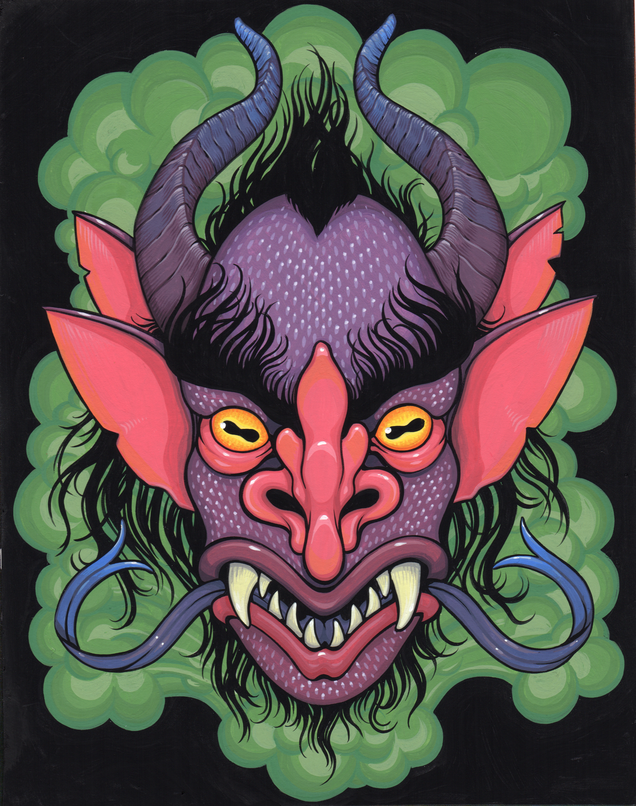 Demon Head Study 3