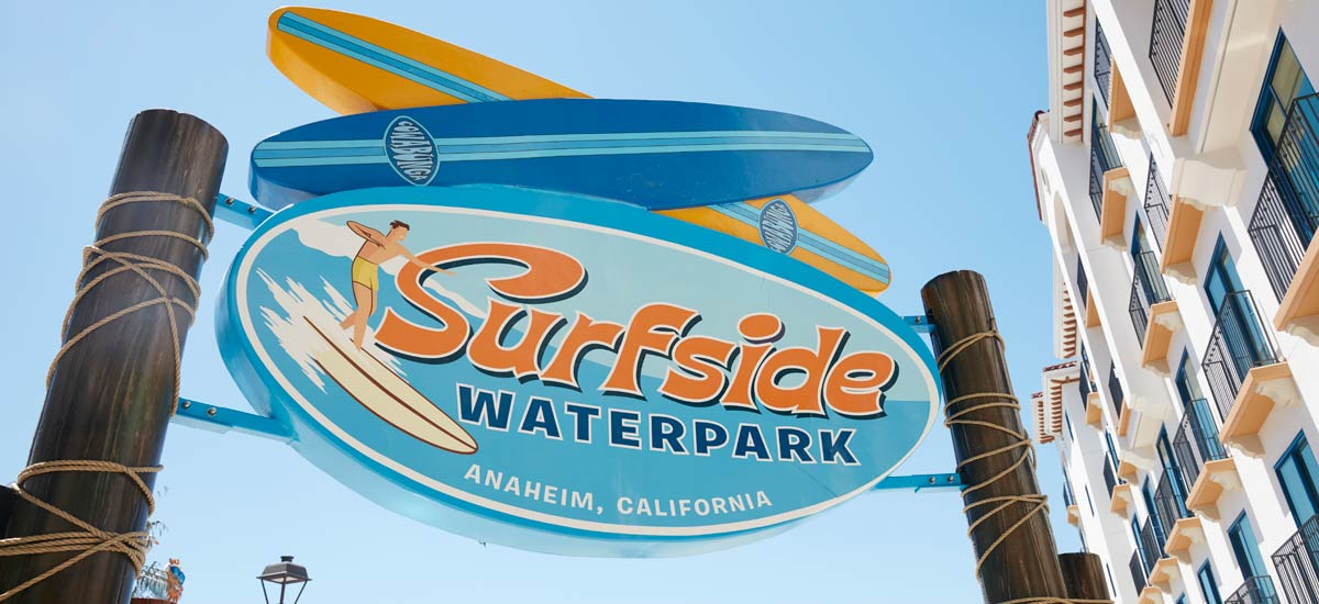 Forget the beach. At our Anaheim hotel, guests have an exclusive invite to the city's largest themed waterpark (outside of Disney® properties). Surfside Waterpark, located on our second-level observation deck, is open only to hotel guests. Surfside Waterpark is open year-round, every day!  Book Today.