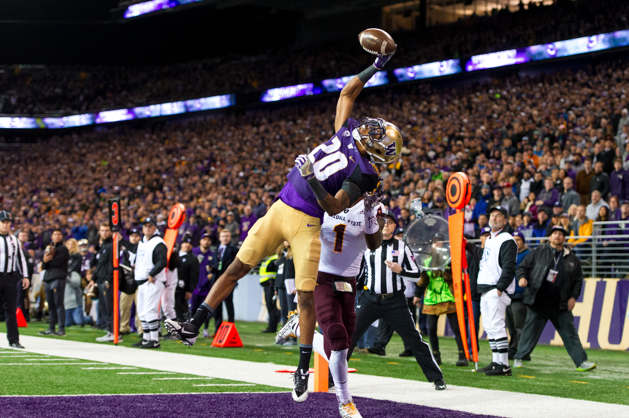 Kevin King Sportscenter Top 10 Interception Against Arizona State University