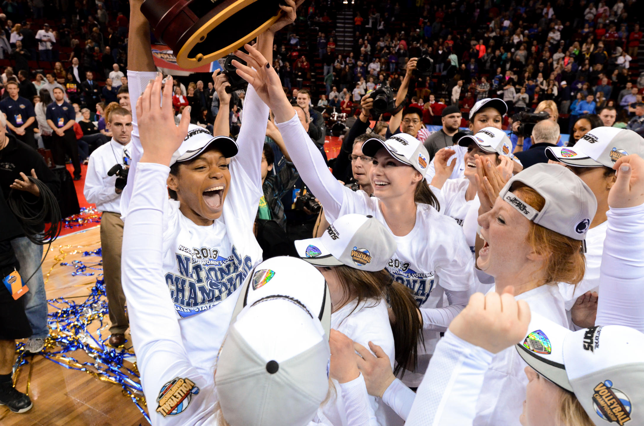 2014 NCAA Volleyball Champions Penn State Celebration