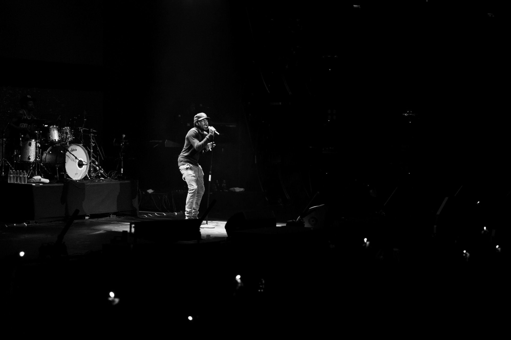 Chance the Rapper at Bumbershoot Music Festival at Key Arena Seattle Center Washington 2015