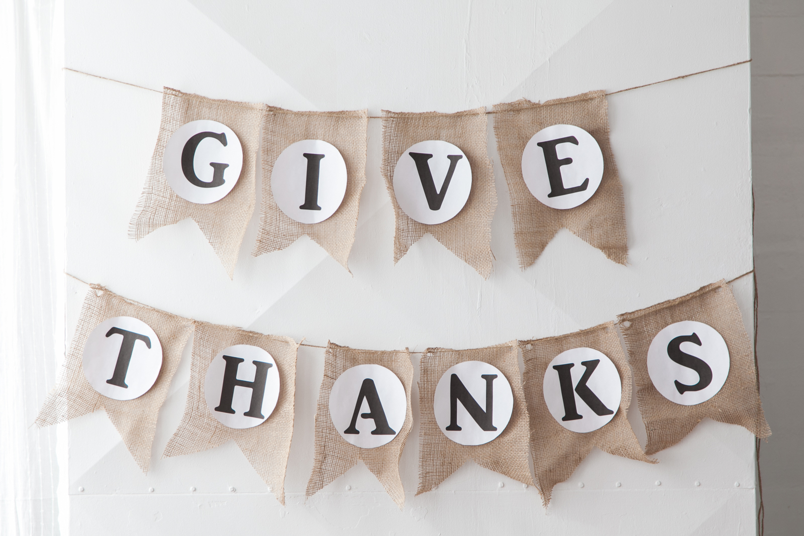DIY give thanks bunting AVENLE MEO BAAKLINI''-16