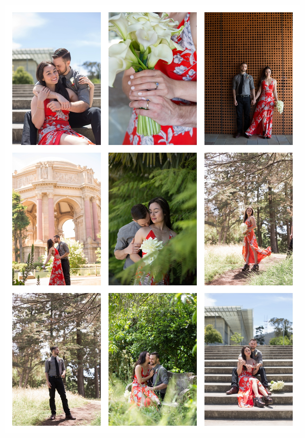 SF Palace of Fine Arts Elopement