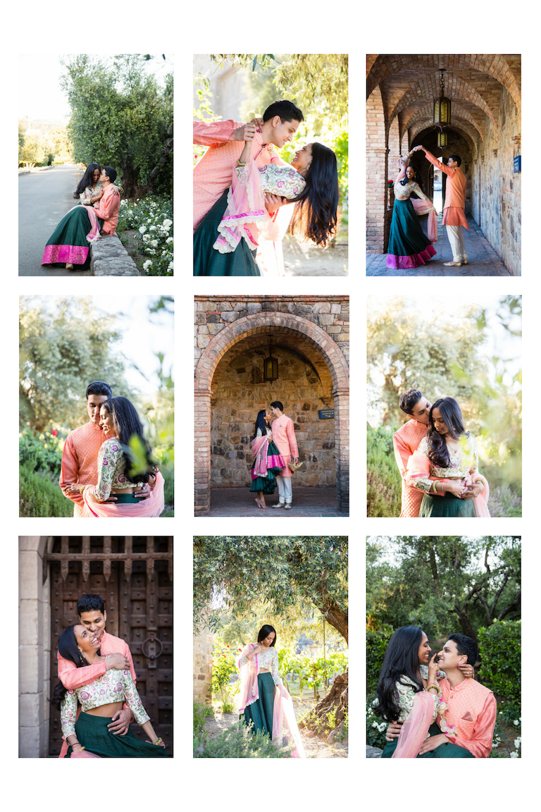 Castillo de Amarosa Engagement