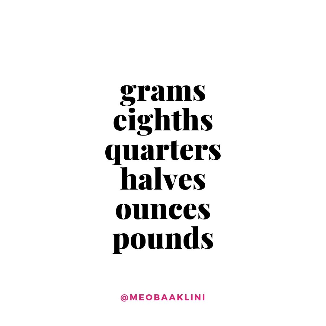 grams eights quarters halves ounces pounds quote on white background.jpg