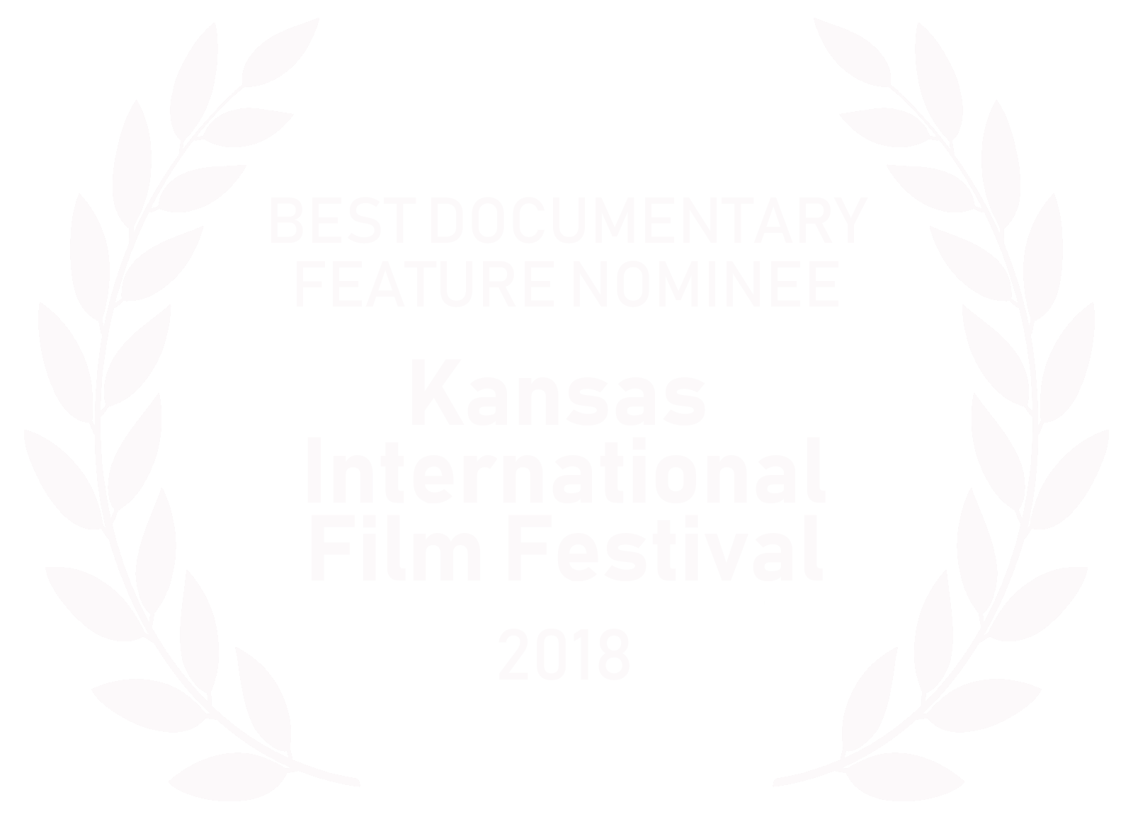 Kansas International Film Festival (Oct 2018) -