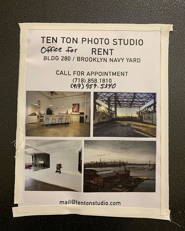 Great office in a great studio. Send me an email and come take a look.