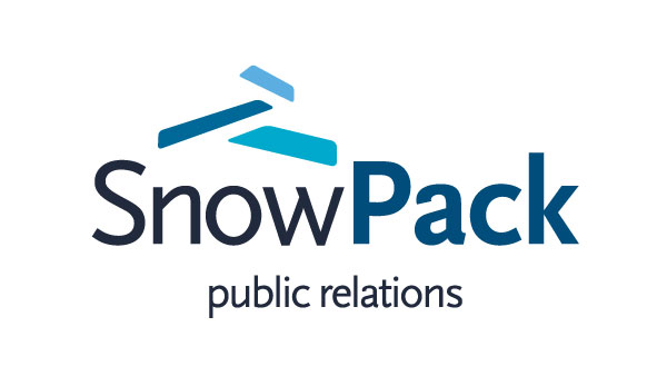 Snow Pack Public Relations logo