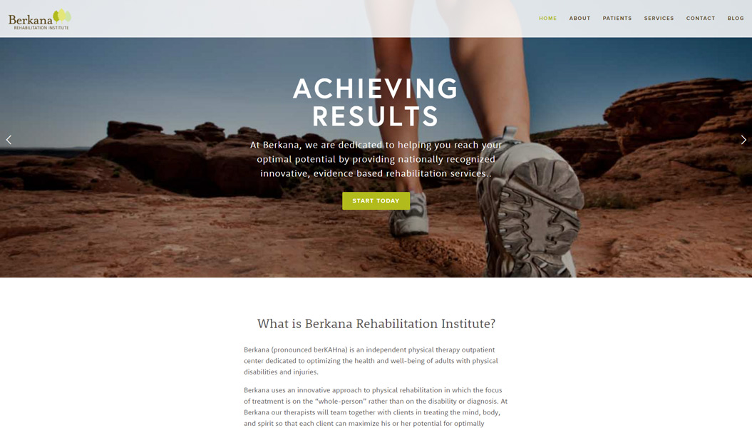 Berkana Rehabilitation Institute   Go to site