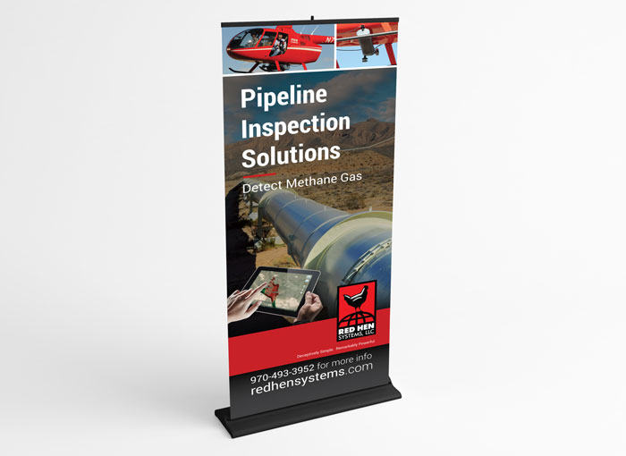 Banner design for Red Hen Systems
