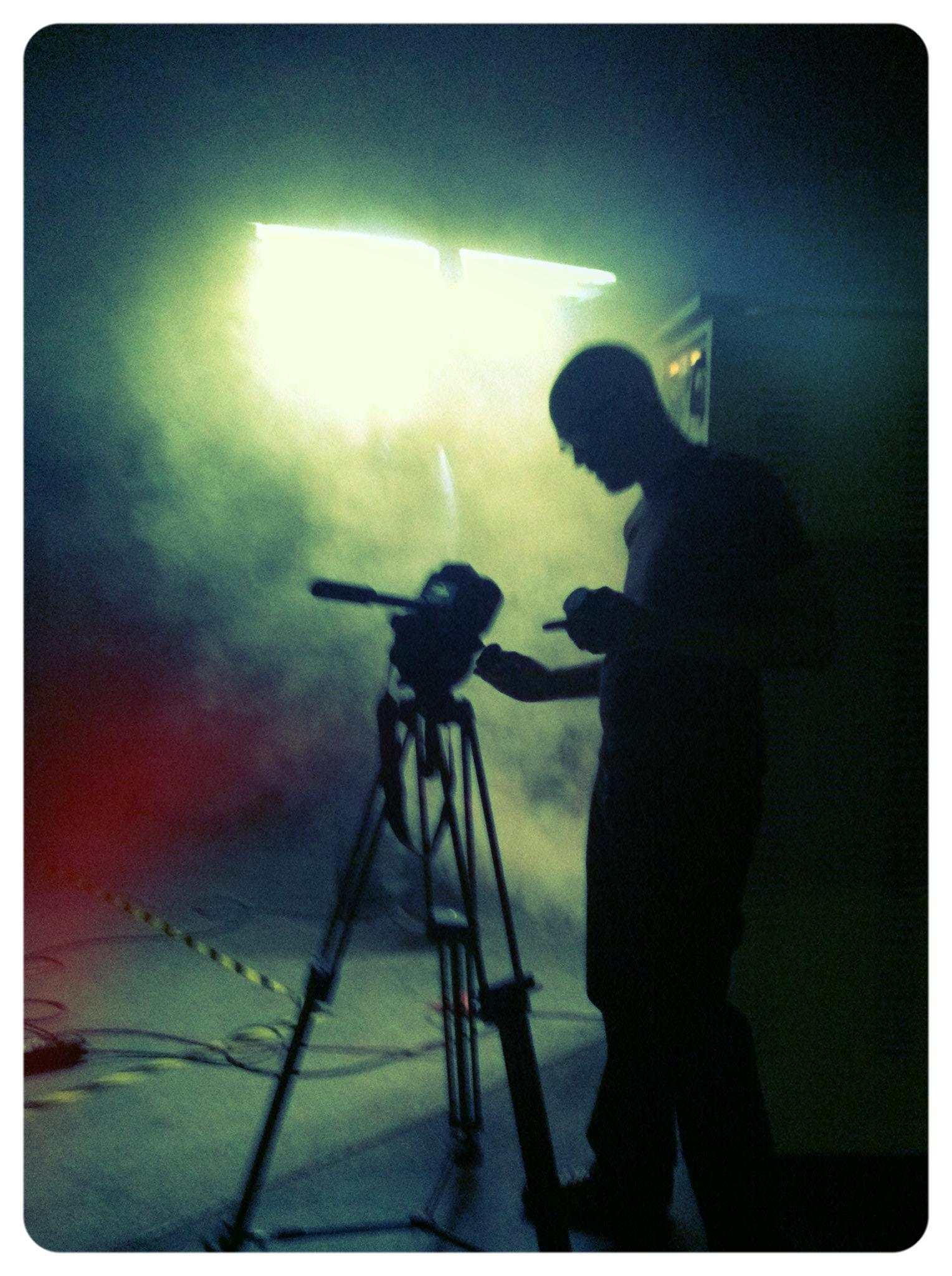 Filming Sci-Fi Inserts