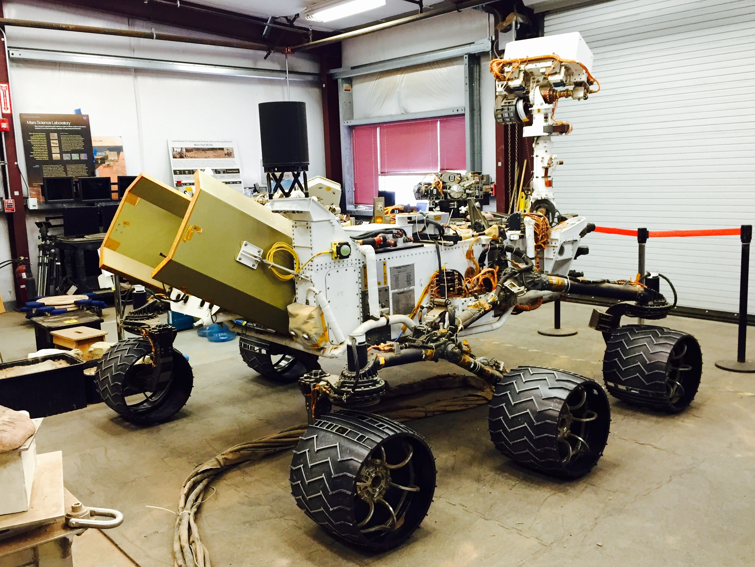 Researching the Mars Rover at JPL
