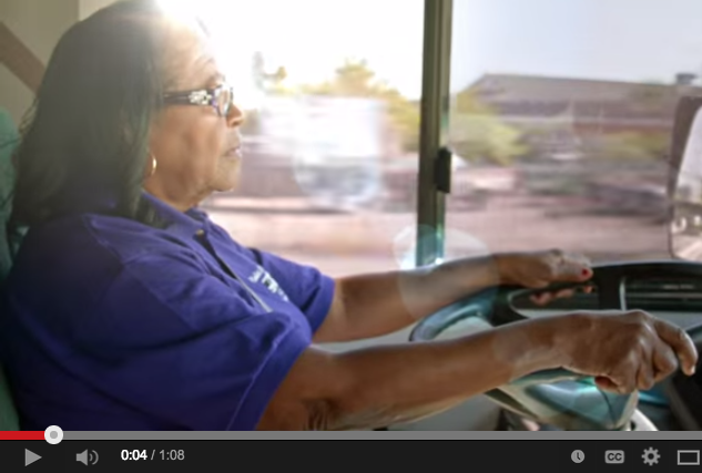 Estella Pyfrom brings computer technology to underprivileged students and underserved neighborhoods on the Brilliant Bus that she bought and equipped using her own public school teacher retirement savings.