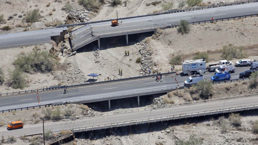 The recent bridge collapse in California is fueling momentum in Congress to act on a transportation package.