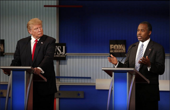 Donald Trump and Ben Carson still lead the national polls, but the real question is what are the true probabilities of ever being elected President.