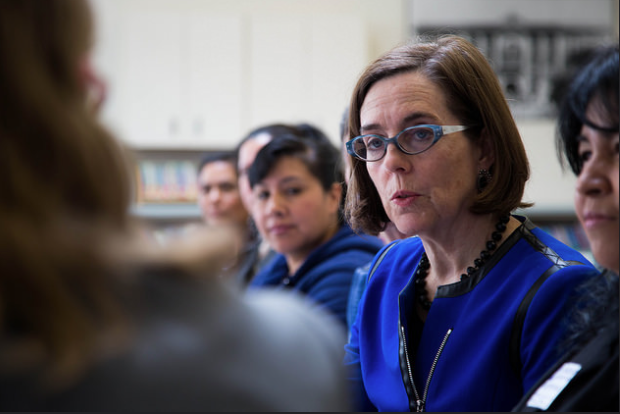 Gov. Kate Brown is seizing on an opportunity to explore public records law improvements.