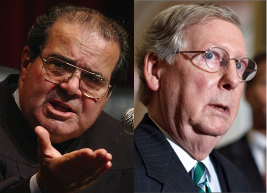 It didn't take long for the untimely death of Supreme Court Justice Antonin Scalia to erupt into a partisan battle and curious, contentious debate over the constitution.